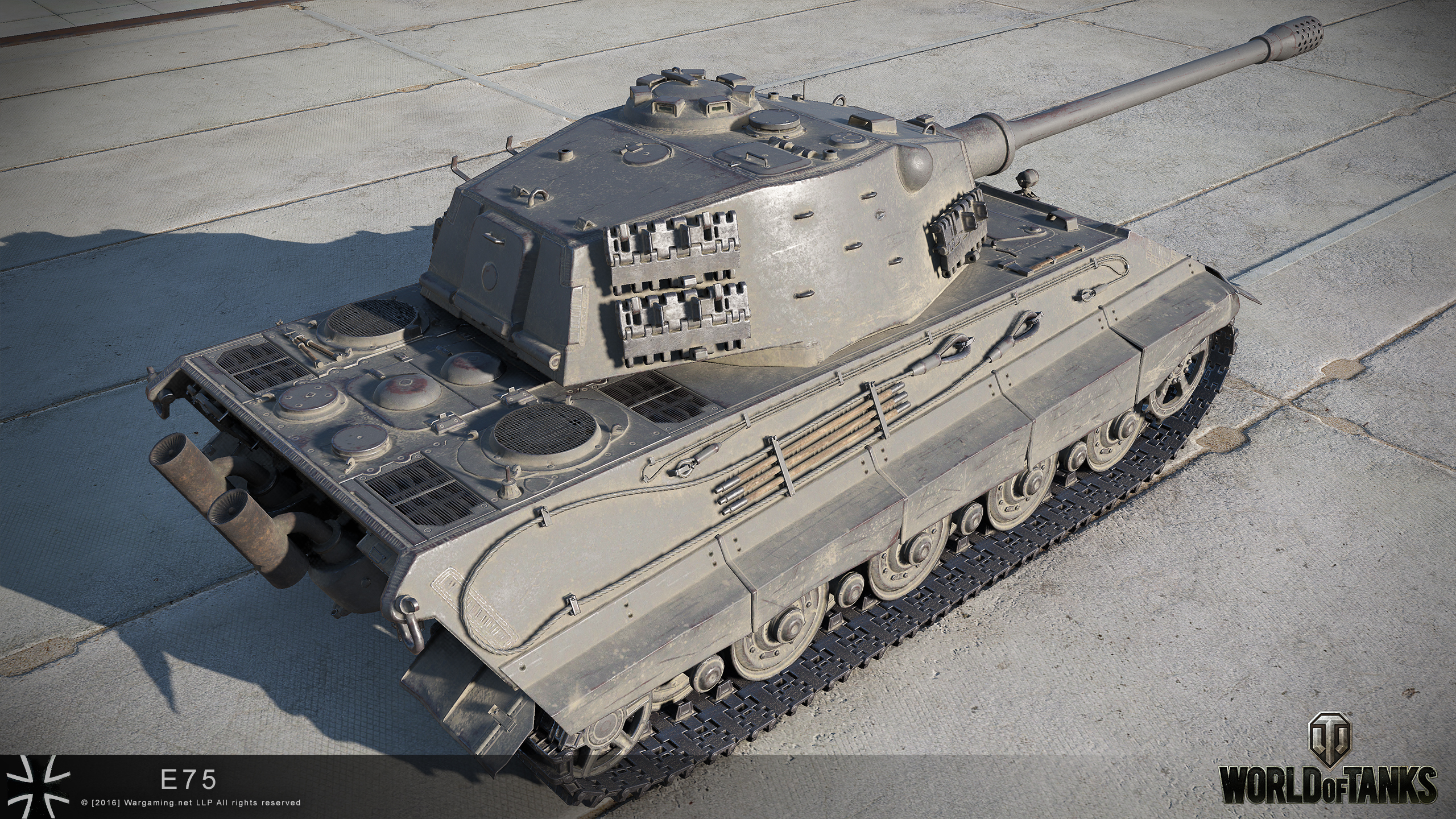 World of Tanks 0.9.15.1 E75 Dicker Max and Hetzer HD official pictures | MMOWG.net
