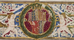 Coat of arms of Cardinal Giovanni of Aragon