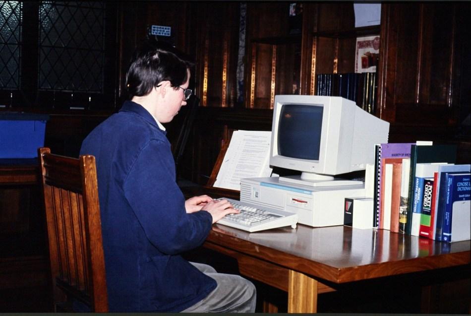 John Hodgson at Computer