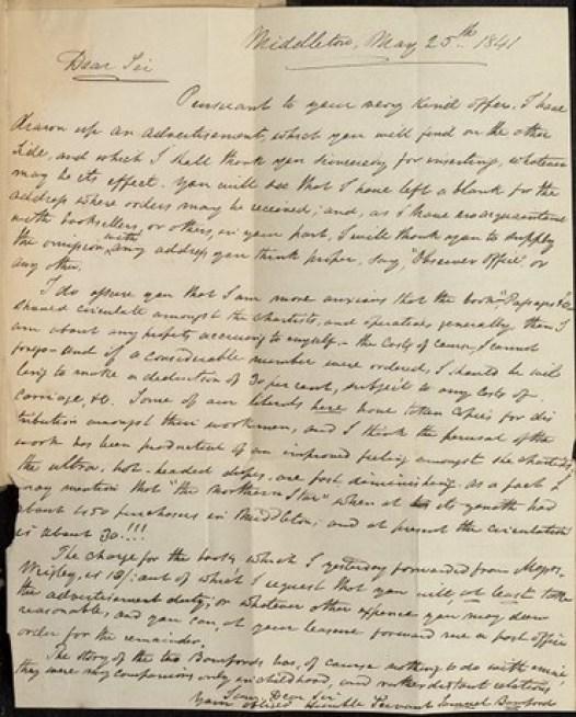 Bamford letter