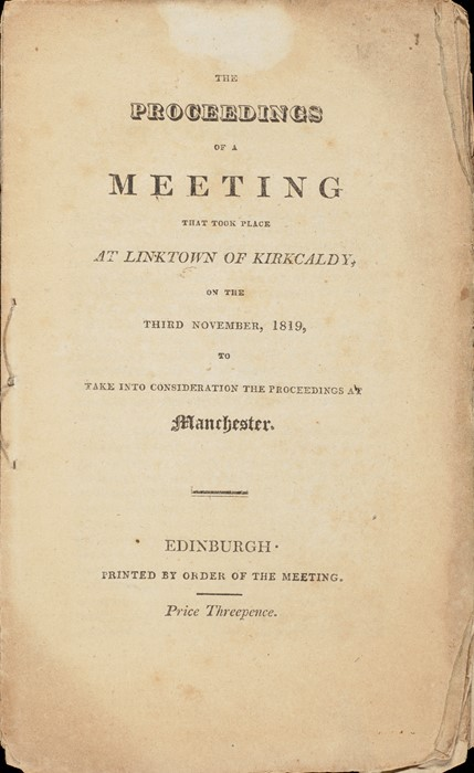 Proceedings of a Meeting