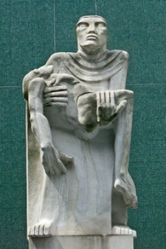 Pieta by Jacob Epstein