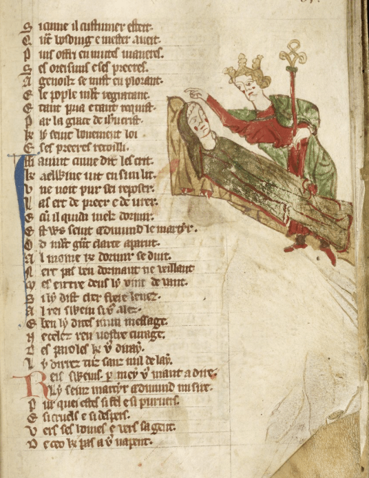 Hagiography French MS 142