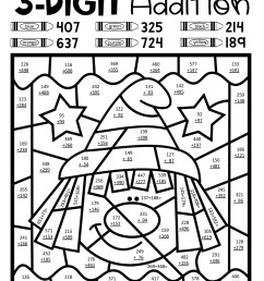 Worksheets Adding Two Digit Number Three   Printable Worksheets and  Activities for Teachers [ 2560 x 1978 Pixel ]