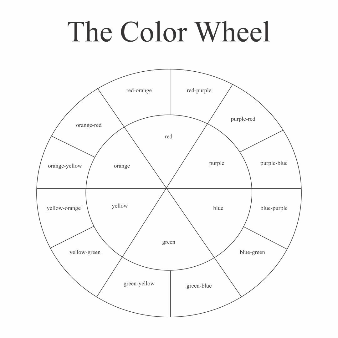 30 Color Theory Worksheet Answers