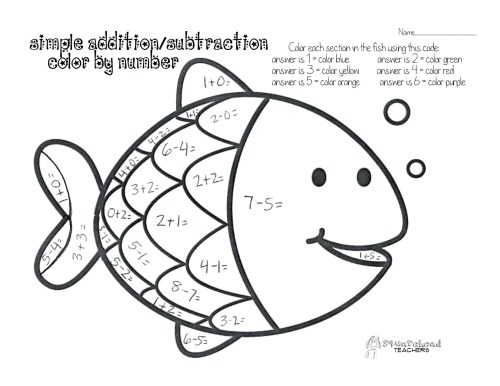 small resolution of Coloring Math Worksheets 1st Grade   Theme Library