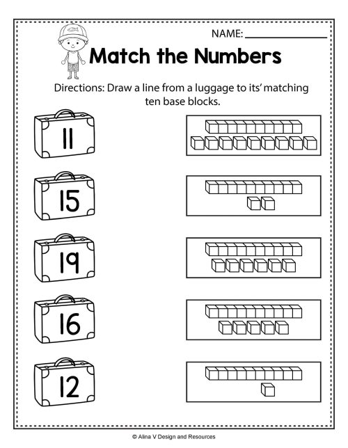 small resolution of Decomposing Worksheets Elementary   Printable Worksheets and Activities for  Teachers