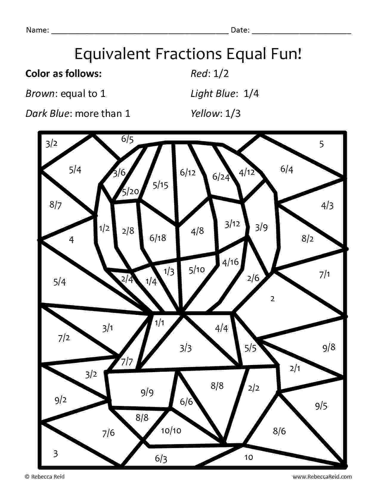 One Step Equations Coloring Worksheet Theme Library