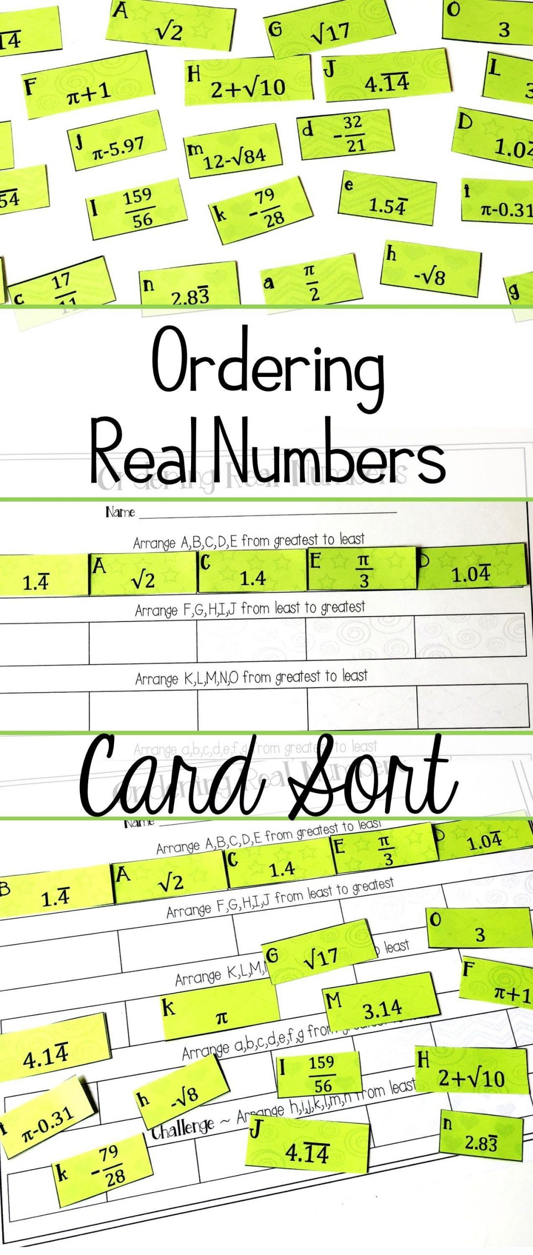 30 Real Number System Worksheet Answers