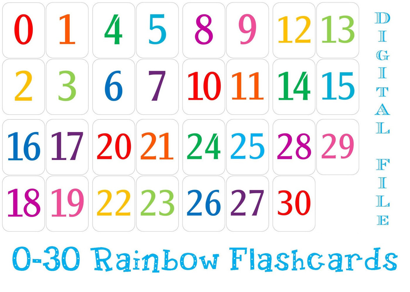 Spanish Numbers 1 30 Worksheet Theme Library
