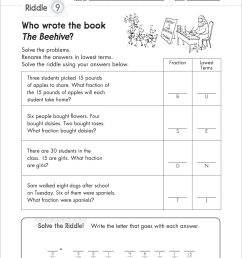 Writing Inequalities Word Problems Worksheet   Printable Worksheets and  Activities for Teachers [ 2560 x 2066 Pixel ]