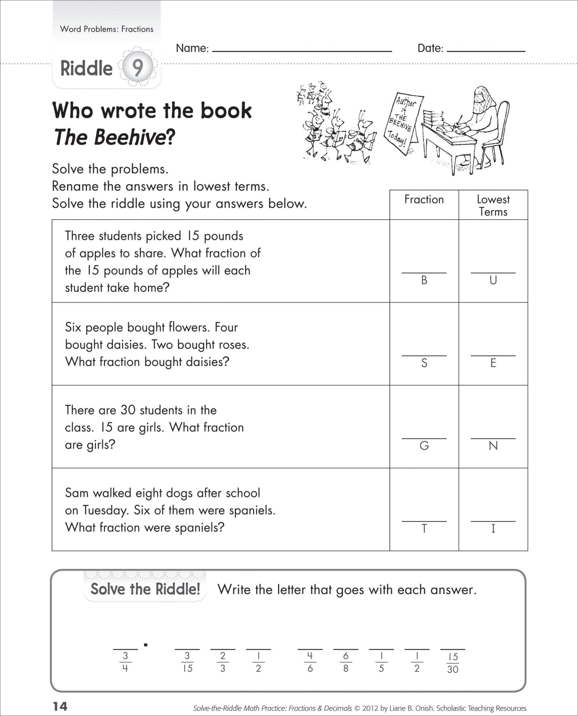 hight resolution of Writing Inequalities Word Problems Worksheet   Printable Worksheets and  Activities for Teachers