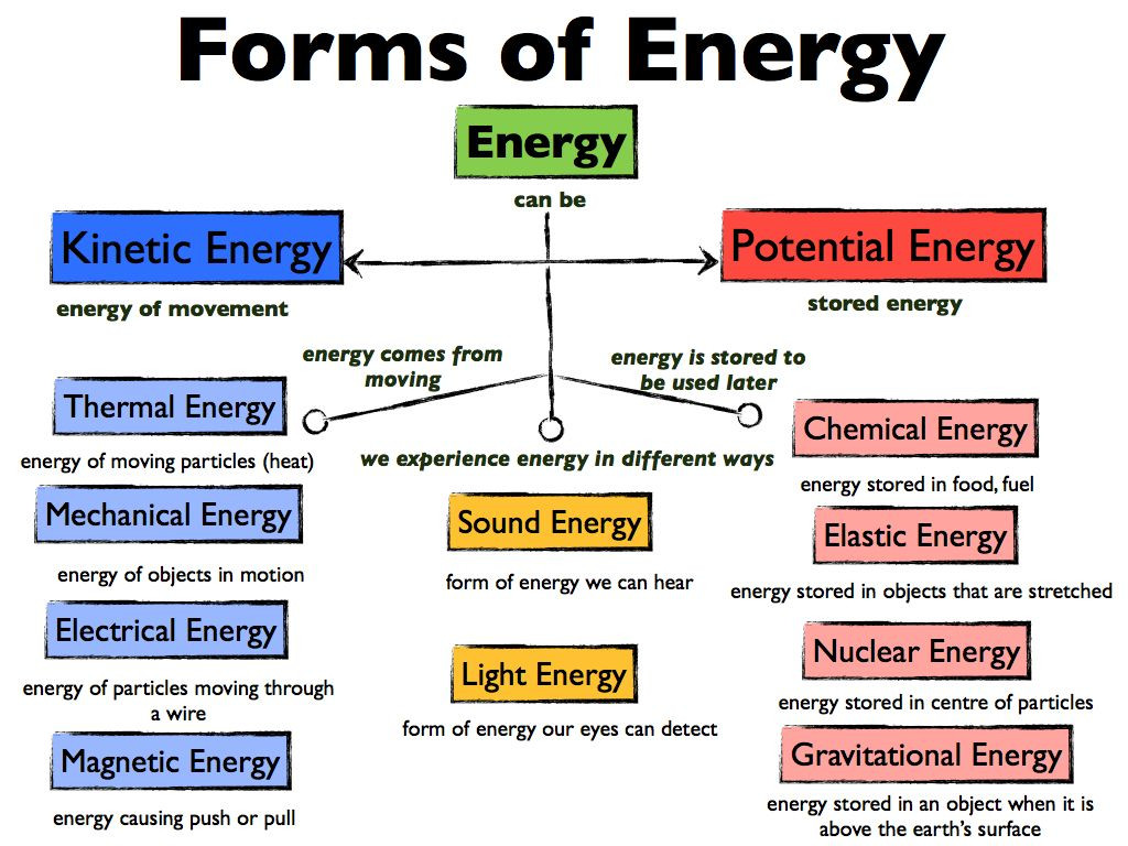 30 Different Forms Of Energy Worksheet