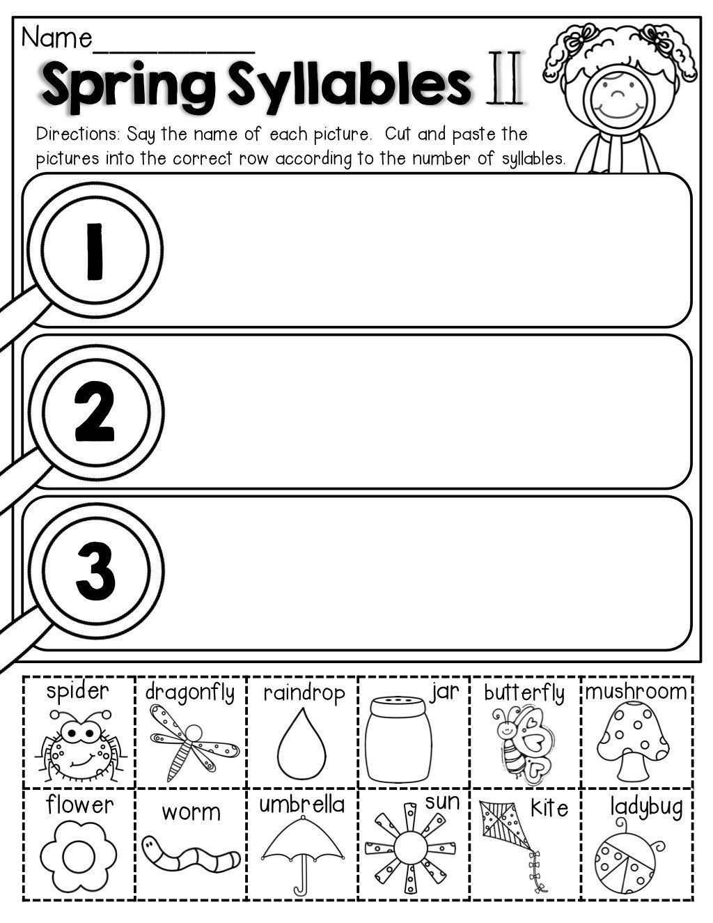 hight resolution of Open Closed Syllable Worksheet   Printable Worksheets and Activities for  Teachers