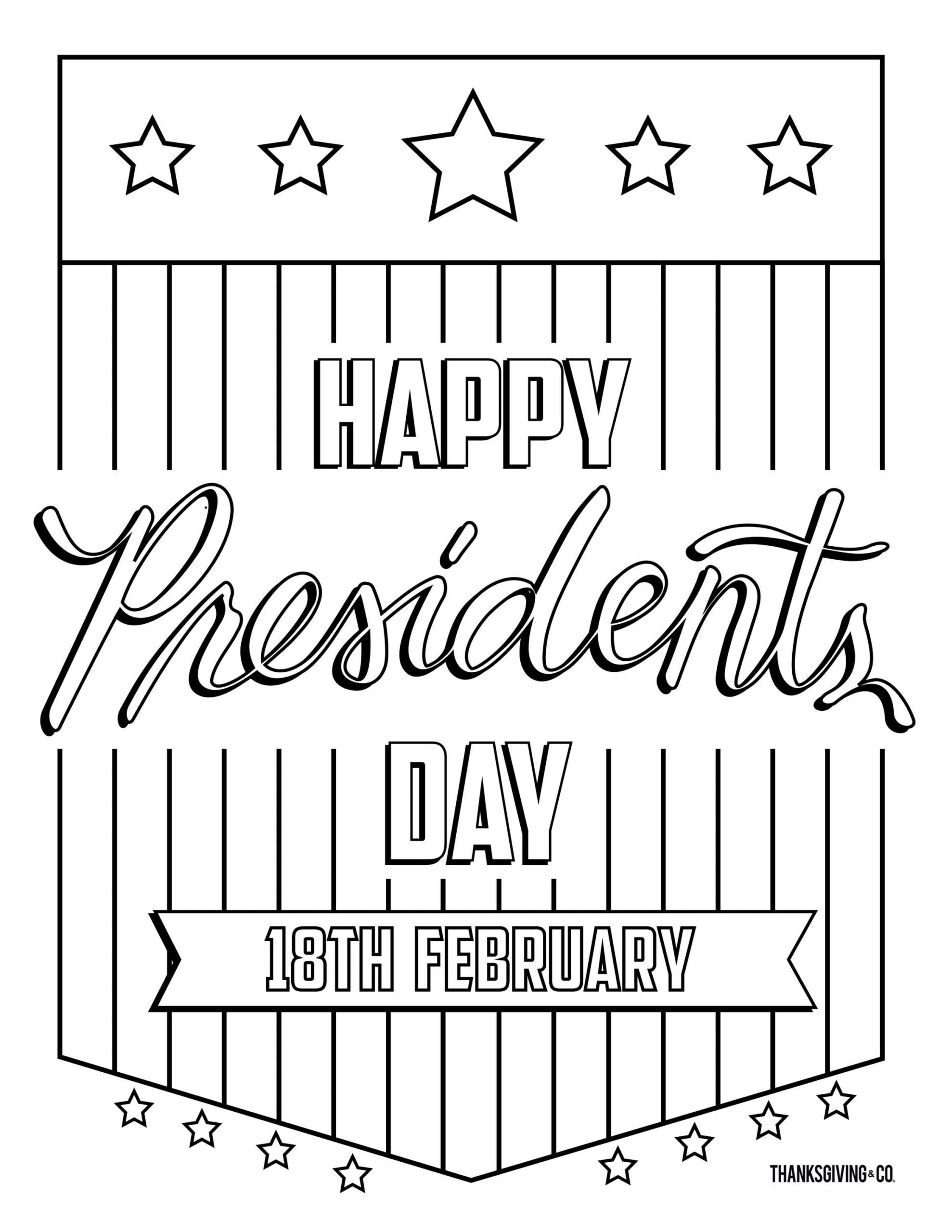 30 Presidents Day Math Worksheets