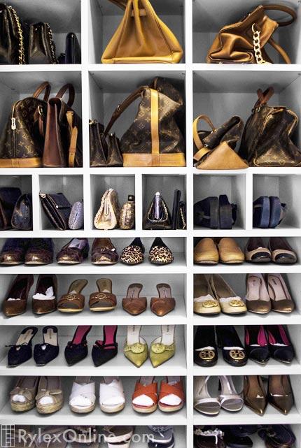 Shoe Organization  Purse Closet  Newburgh NY  Rylex