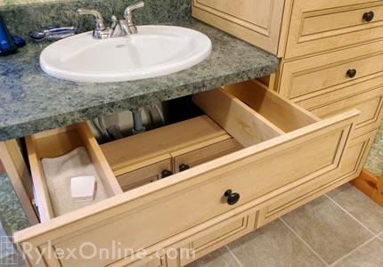 Drawer Wraps Around Sinks Plumbing  Goshen NY  U