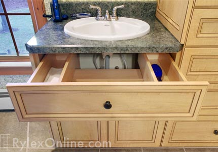 Drawer Wraps Around Sinks Plumbing  Goshen NY  U