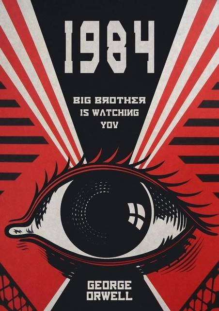 Cover image of Orwell's 1984