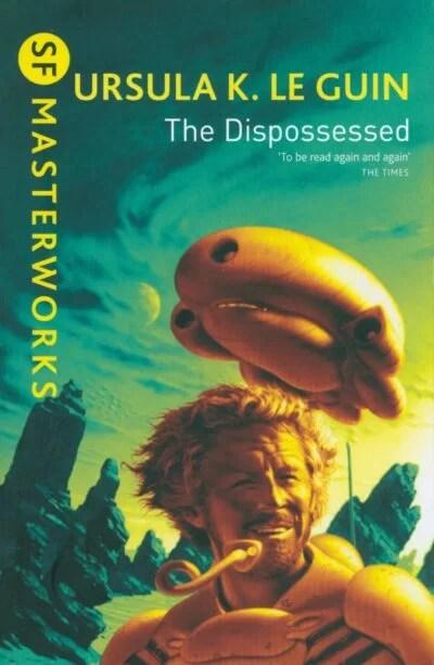 Ursula K Le Guin's The Dispossessed cover art