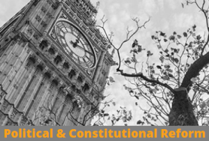 Political & Constitutional Reform
