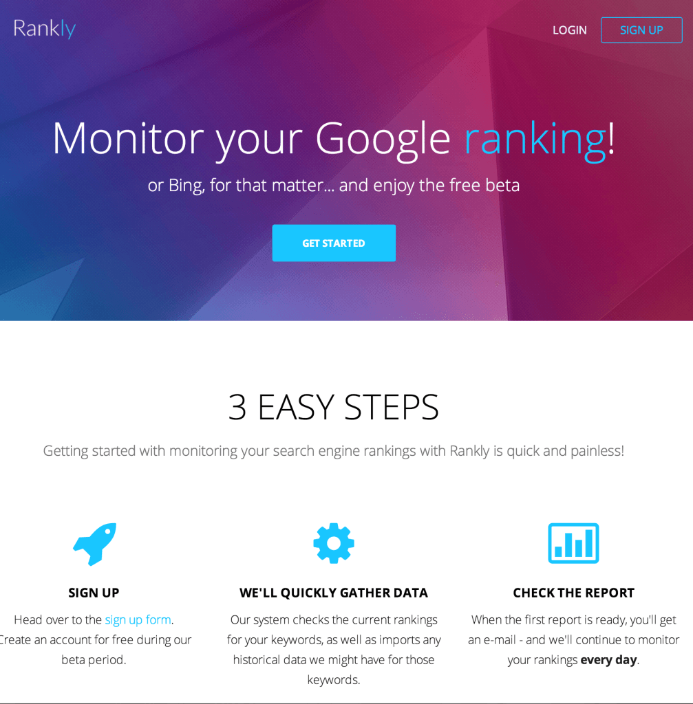 Rankly Google Ranking