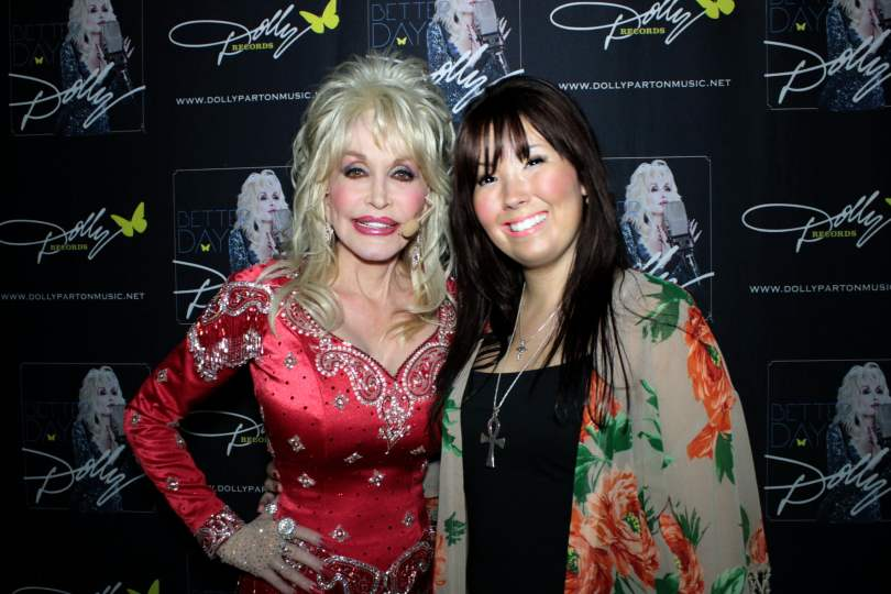Dolly Parton and Bianca Moon
