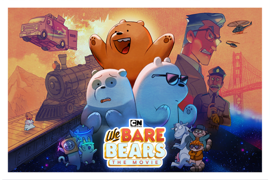 Cartoon Network will screen We Bare Bears: The Movie next month