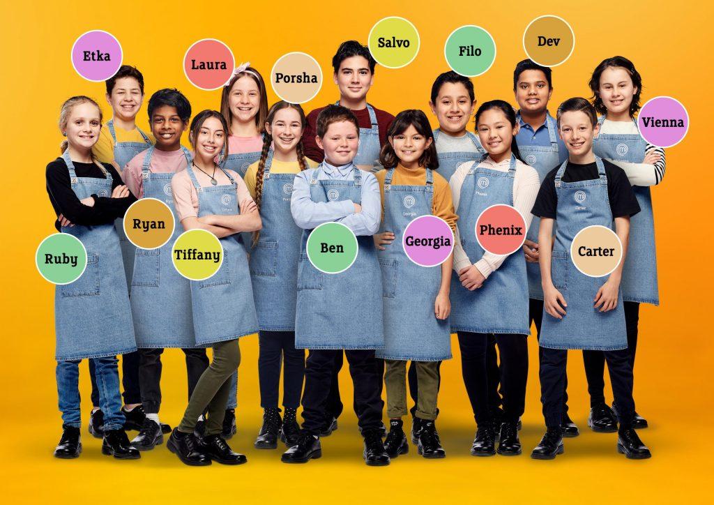 Junior MasterChef Australia 2020 meet the mini chef
