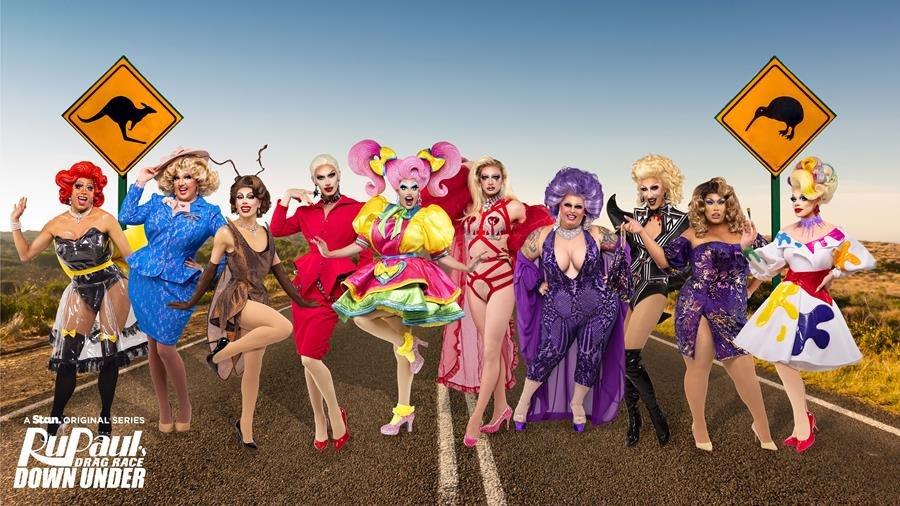 Stan reveals cast for  RuPaul's Drag Race Down Under