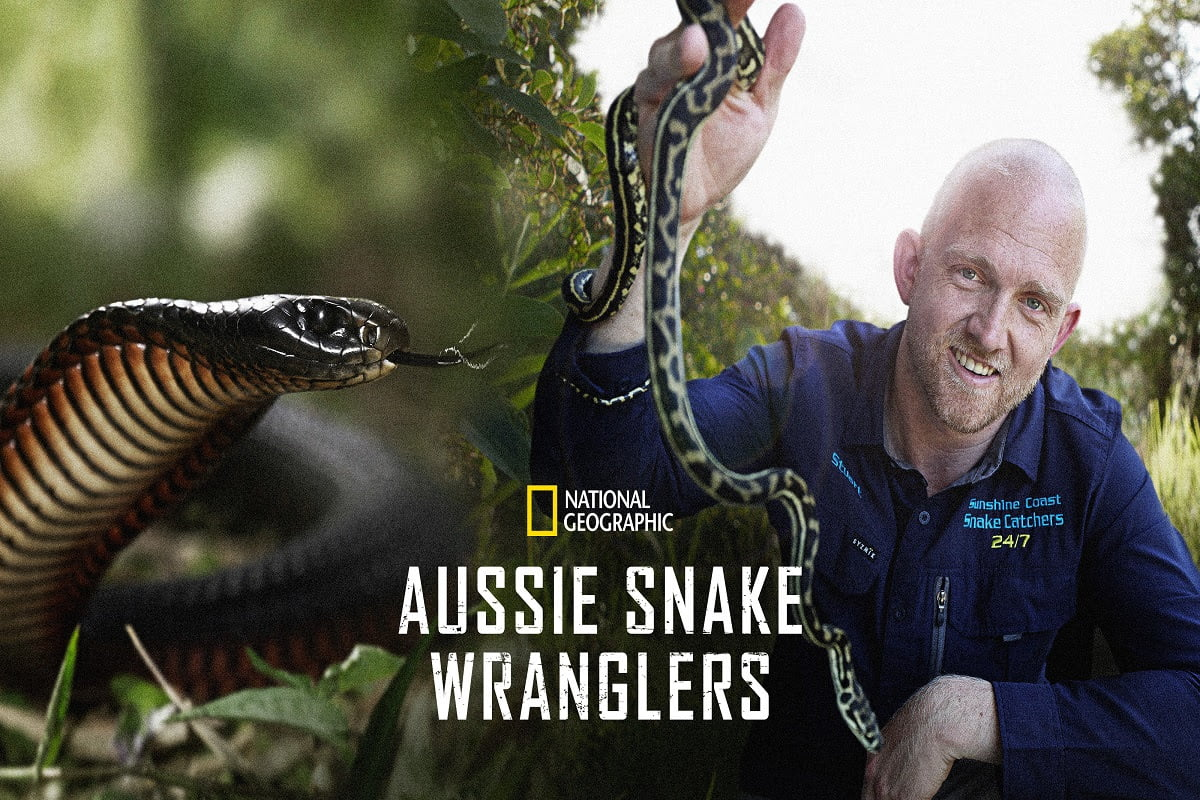 Aussie Snake Wranglers coming to National Geographic this September