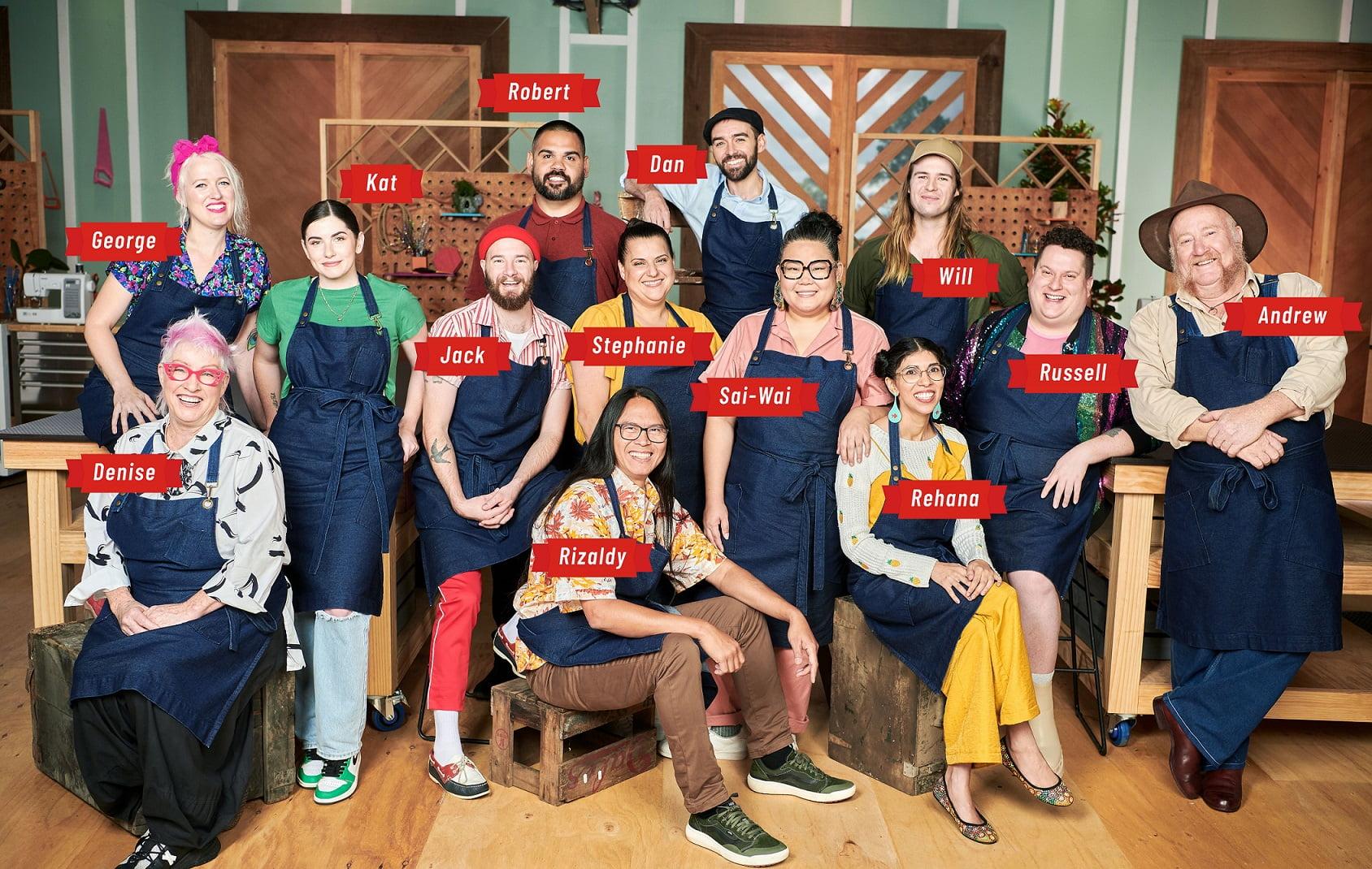 Making It Australia Cast revealed