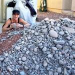 Tips for completing BIG-HUGE projects (like moving 5 tons of rocks)