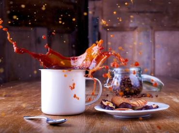 coffee mess from universe