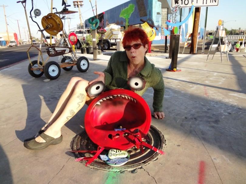 ryn garguilnski crab art tucson fair