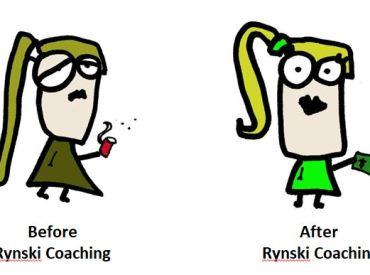 happy rynski coaching client