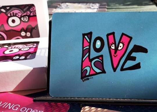 dazzle deck inspirational cards