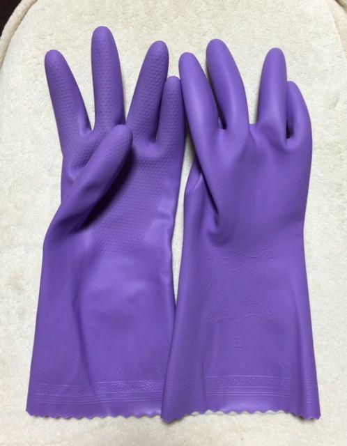 食器洗い用ゴム手袋
