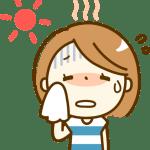 顔汗を止める方法タオル