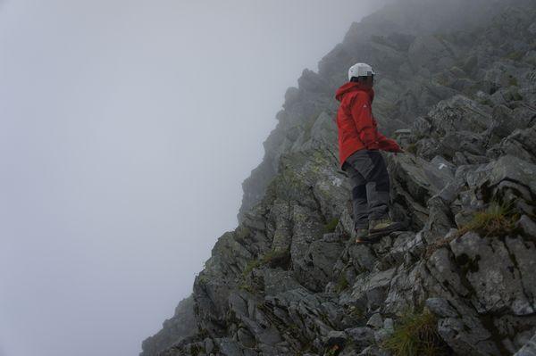奥穂高岳山頂へアタック