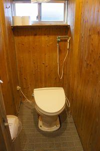 穂高岳山荘洋式トイレ便器