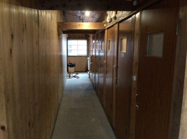 穂高岳山荘トイレ