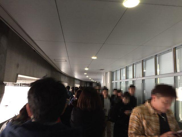 スノボード天国大阪入場規制