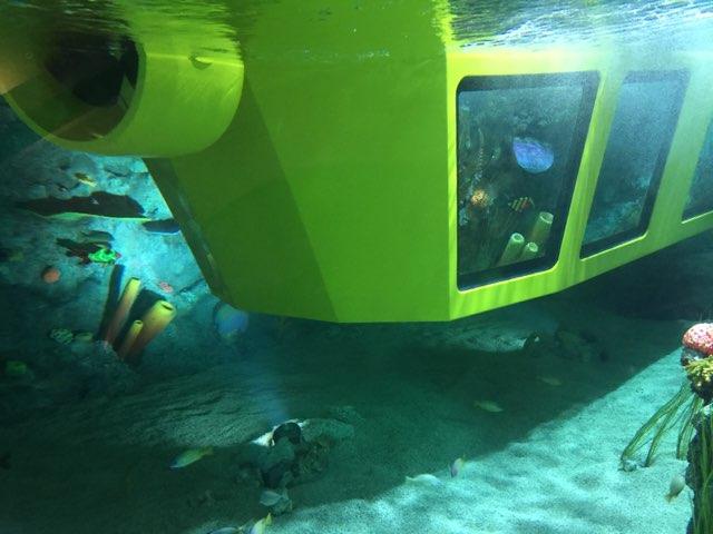 レゴランド名古屋潜水艦