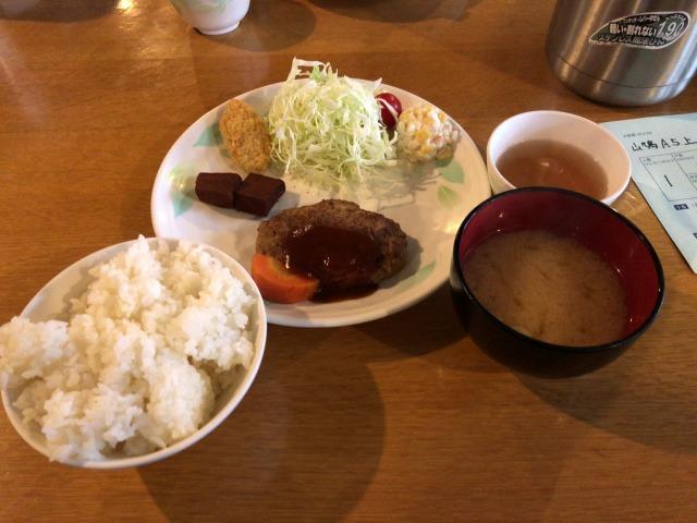 槍ヶ岳山荘の食事夕食01s