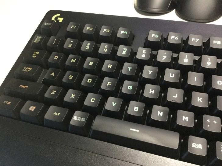 G213 ゲーミングキーボード キー印字