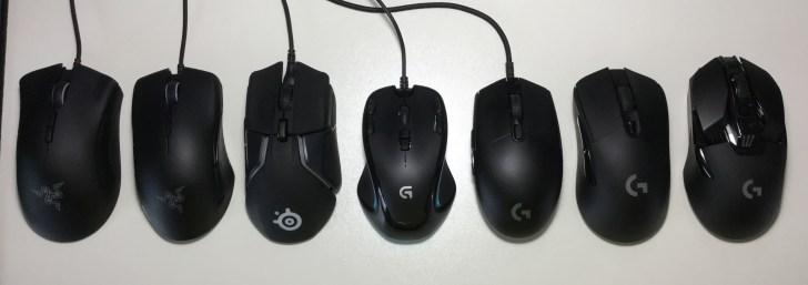 ゲーミングマウス 比較