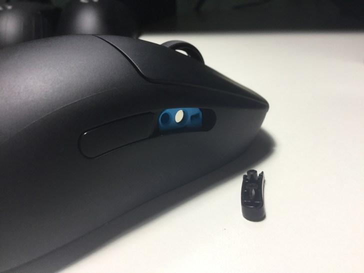 GPROwireless サイドボタン 右側面