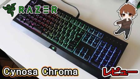 \レビュー/Razer「Cynosa Chroma」Razerキーボードが7000円で買える。コスパ優先のエントリーモデル