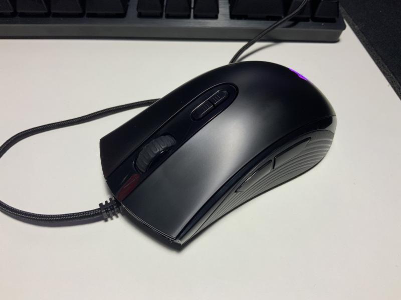 \レビュー/HyperX「Pulsefire Core」3700円という破格のコスパ。使い心地も妥協無しで使えるゲーミングマウス